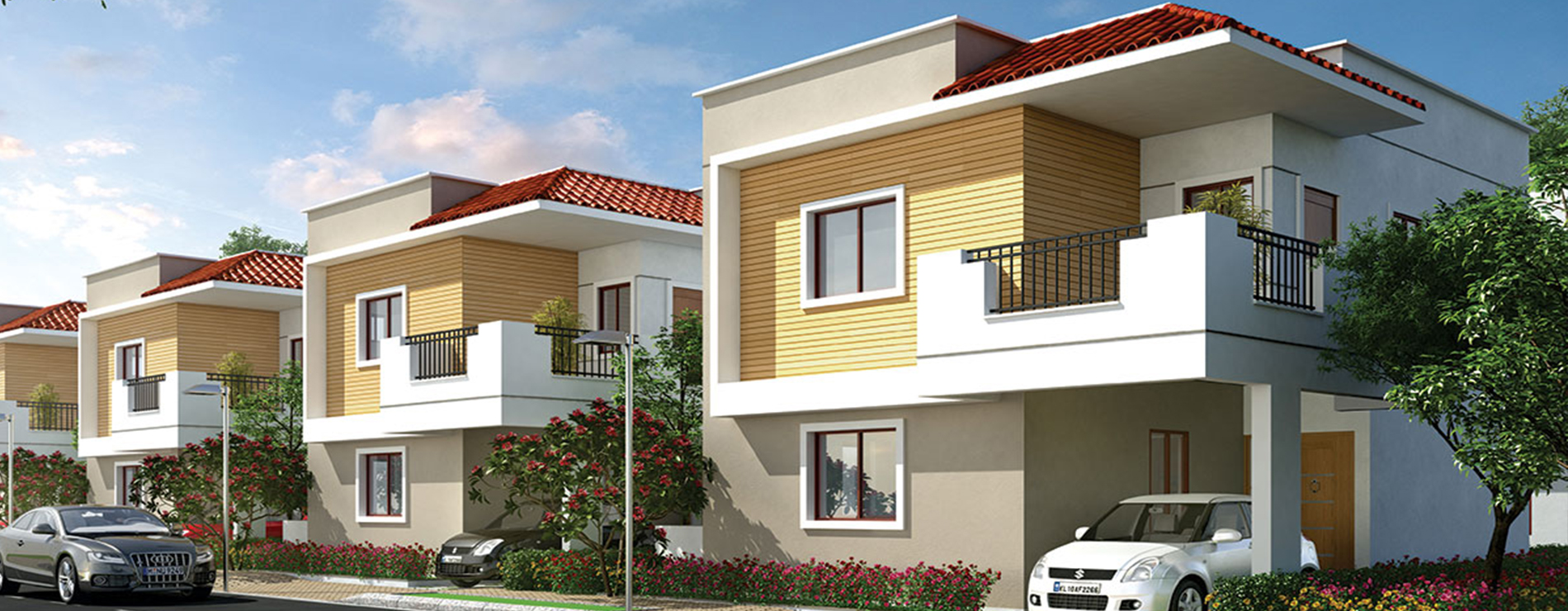 Flats for Sale in Manipal county road